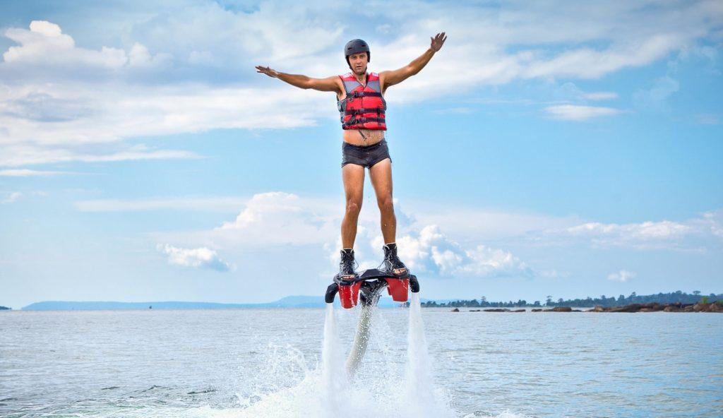 flyboarding n goa