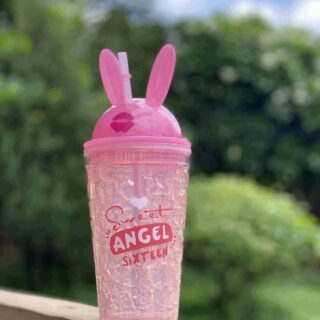 Pink Frosty Sipper