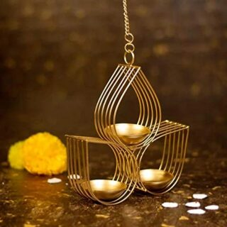 Metal Diya Decorative Hanging